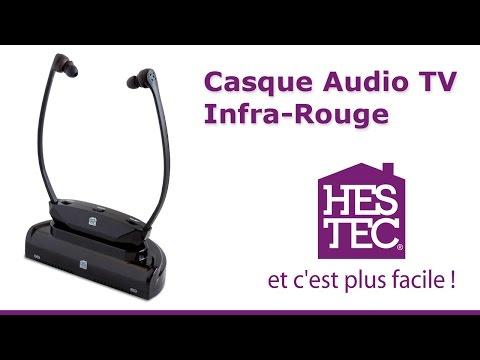Casque TV audio Infra Rouge