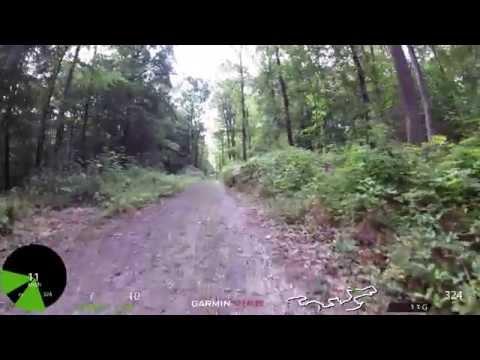 Mountain Bike Cycling Video for Indoor Training 50 Minute Full HD Garmin VIRB Elite Camera