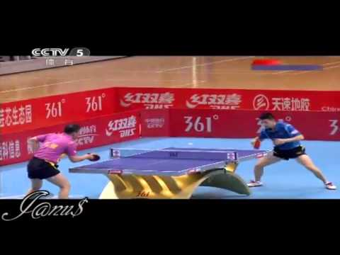 2012 China Super League: MA Lin - MA Long [Full Match/Short Form]