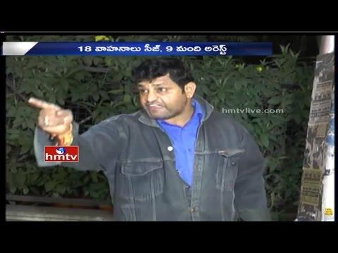 Drunken Man High Drama at Jubilee Hills | Drunk and Drive | Hyderabad | HMTV
