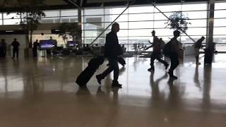 DTW Detroit Airport McNamara Terminal Delta counters and Concourse A 5/29/2017