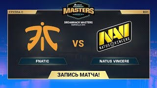 fnatic vs Na'Vi - DreamHack Marceille - map3 - de_overpass [Enkanis, yXo]