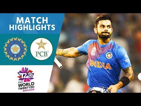 Kohli Stars In India Win   India vs Pakistan   ICC Men's #WT20 2016 - Highlights