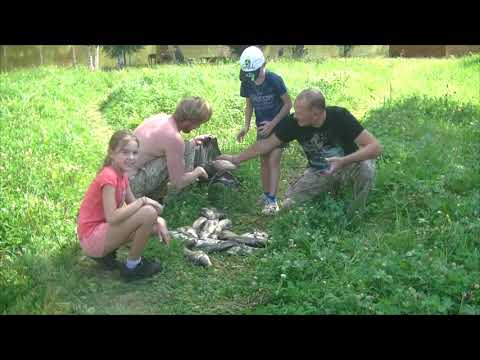 Видео отчет о рыбалке за 18 августа 2018