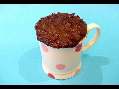 Как сделать печенье из какао в микроволновке
