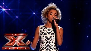 "Kiera waters Sings ""Everybody Hurts"" - X Factor Week 1 2015"