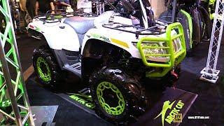 5. 2018 Arctic Cat Alterra Mud Pro 700 Recreational ATV - Walkaround - 2017 Toronto Snowmobile ATV Show