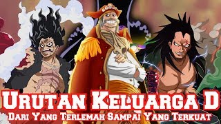 Download Video Inilah Urutan Keluarga D dari yang Terlemah Sampai yang Terkuat (Teori One Piece) MP3 3GP MP4