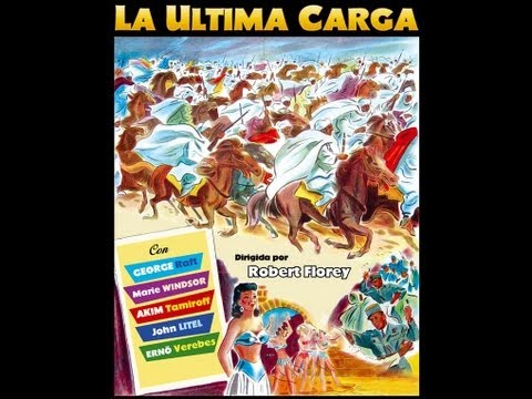 LA ULTIMA CARGA (Outpost in Morocco, 1949, Spanish, Full movie, Cinetel)