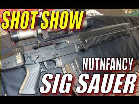 Video Nutnfancy at SHOT Show 2010: SIG SAUER download in MP3, 3GP, MP4, WEBM, AVI, FLV January 2017