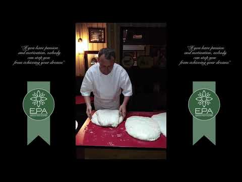 PIZZA CHEF  MIHOC MARIUS AT EMERALD PIZZA ACADEMY, DUBLIN, IRELAND