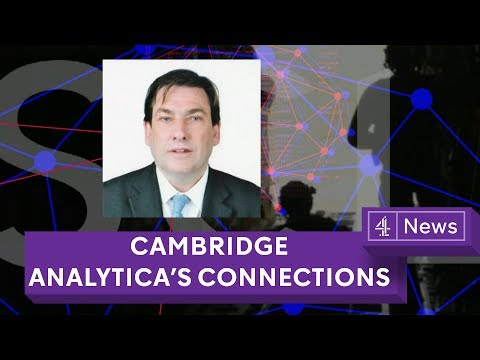 Cambridge Analytica: New details about its wider network of firms