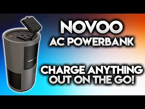 NOVOO AC POWERBANK REVIEW - 22500 mAh