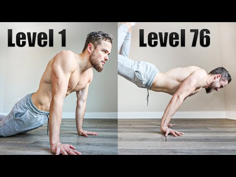 PUSH UPS From LeveL 1 To LeveL 80 (WHAT'S YOUR LEVEL?)