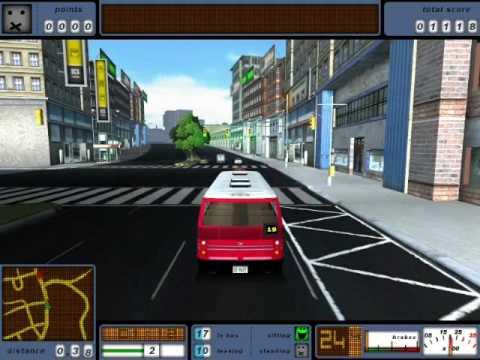 Bus Driver Game Simulator (Gameplay)