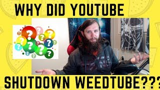 How to survive the WeedTube apocalypse. Where did all the Weedtubers go? by  Weeats Reviews