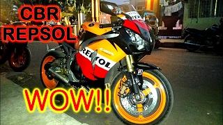10. MY FRIEND'S NEW CBR 1000RR REPSOL EDITION ( 2010 )