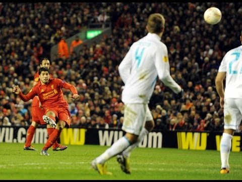 Liverpool 3 - 1 Zenit St. Petersburg 21/02/2013 All Goals & Highlights [HD]