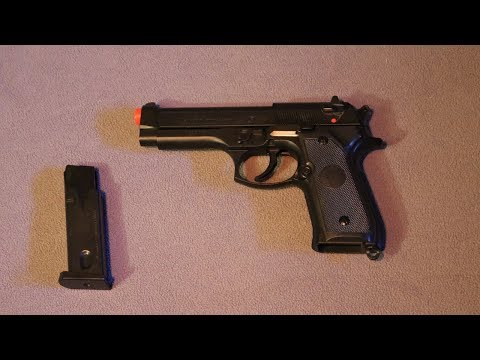 UHC M9 Spring Airsoft Pistol review