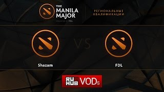 Shazam vs FDL, game 1