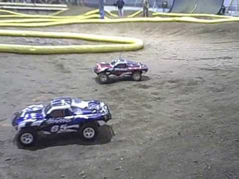 Traxxas SLASH Action R/C Car Racing HCRC Danville Indiana CORR truck WILD!