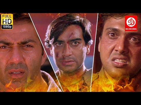 Top Bollywood Action Scenes   Sunny Deol   Ajay Devgan   Govinda   Bollywood Best Action Fight Scene
