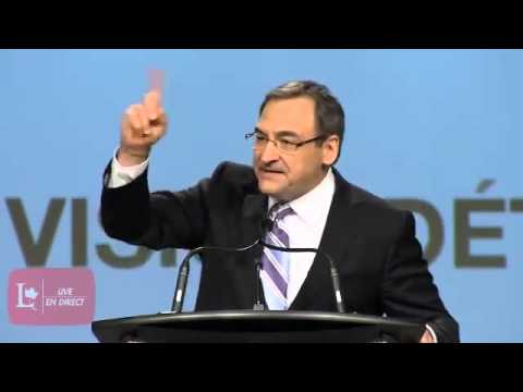Martin Cauchon - National Showcase Speech / Discours de la Présentation nationale