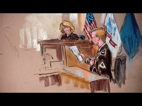 Facing 90 Years, Bradley Manning Expresses Regret for