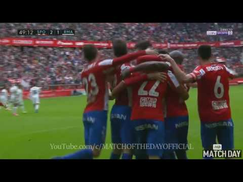 Sporting Gijon vs Real Madrid 2-3 - All goals & Extended Highlights - La Liga 15/04/2017