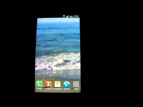 Video of Angry Ocean Live Wallpaper HD