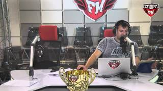 100% Футбола c Александром Боярским и Максимом Лисовым. 25.08.2016