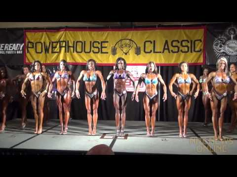 IFBB - The entire Figure prejudging round at the 2013 IFBB Powerhouse Classic, held in Novi, Michigan on May 11.