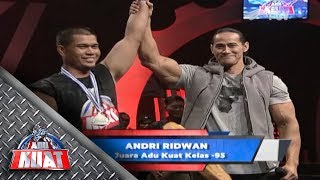 Video Selamat Bung Andri Ridwan Jawara Adu Kuat Kelas -95!!! MP3, 3GP, MP4, WEBM, AVI, FLV November 2018