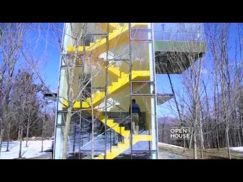 Thomas Gluck's Tower House in the Catskill Mountains | Open House TV