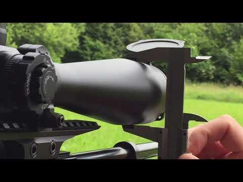 Zielfernrohr einschießen, einstellen und Klicks berechnen