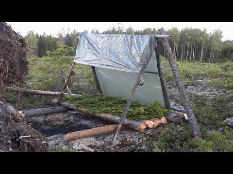 The Survival Log Shelter.