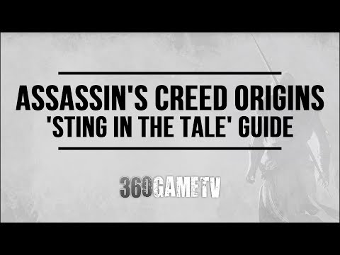 Assassins Creed Origins Sting In The Tale Achievement/Trophy Guide (Complete The 5 Serqet Locations)