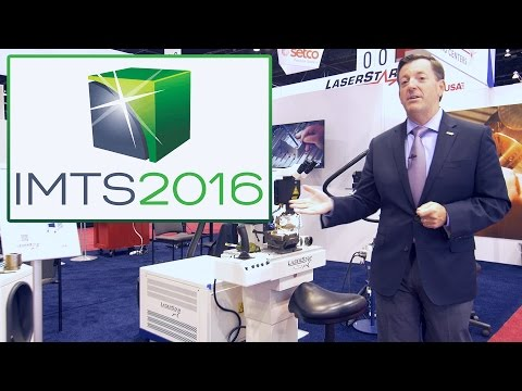 <h3>LaserStar - IMTS Chicago 2016 Product Presentation</h3>Live from the 2016 IMTS Show in Chicago, President and C.O.O. of LaserStar Technologies, James Gervais does a product presentation of LaserStar products used in laser marking, laser cutting, and laser welding. Made in USA.<br /><br />