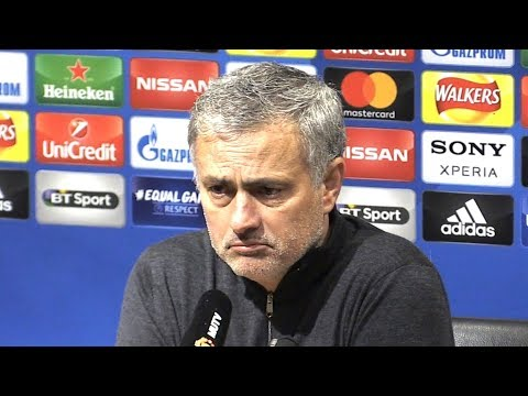 Manchester United 1-2 Sevilla - Jose Mourinho Full Post Match Press Conference - Champions League (видео)