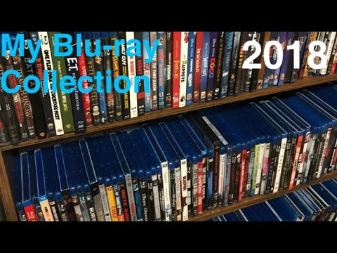 My Blu-ray collection 2018 (300+)