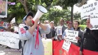 الحصاد اليومي : مجموعة من الباعة المتجولين يقومون بوقفة احتجاجية بالحي المحمدي