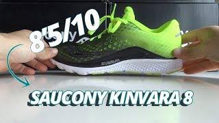 Os contamos todos los detalles de la renovada Saucony Kinvara 8. ¿A qué tipo de corredor está enfocada?