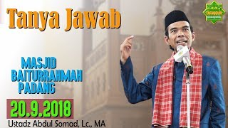 Video Tanya Jawab (Universitas Baiturrahmah Padang, 20.9.2018) - Ustadz Abdul Somad, Lc., MA MP3, 3GP, MP4, WEBM, AVI, FLV Januari 2019