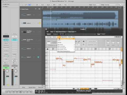 Logic Pro: Melodyne & Portal Voice Tutorial
