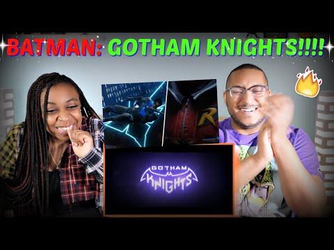 """Batman: Gotham Knights"" Official World Premiere Trailer REACTION!!!!"