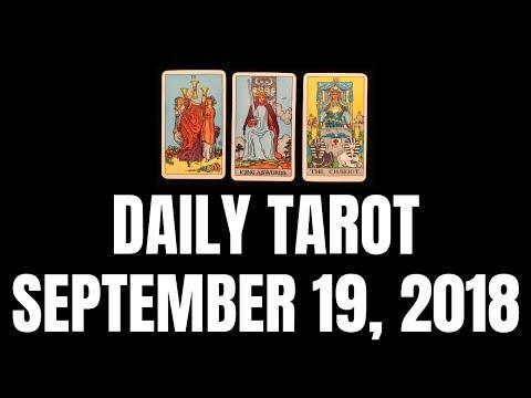 Daily Tarot Reading for September 19, 2018 | Magnetic Tarot (видео)