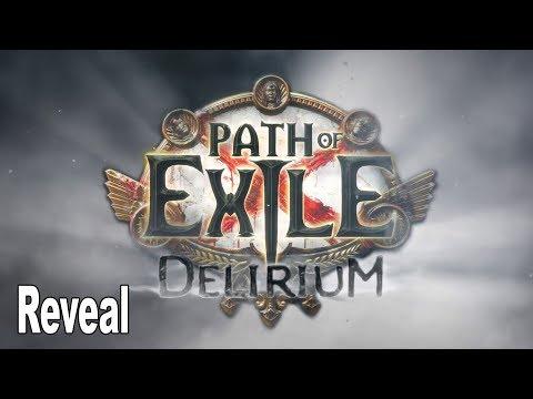 Path of Exile: Delirium - Reveal Trailer [HD 1080P]