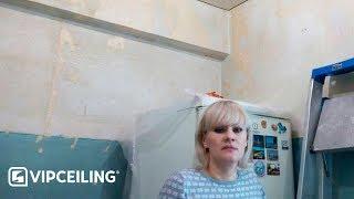 Бесшовный потолок 6 м<sup>2</sup>