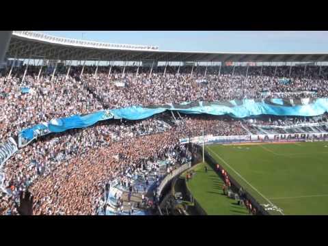 Racing vs Independiente - Recibimiento de la Guardia Imperial - La Guardia Imperial - Racing Club