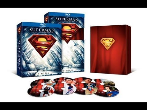 The Superman Motion Picture Anthology (1978-2006) Blu-Ray Unboxing